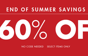 Milanoo: 60% Off End Of Summer Savings