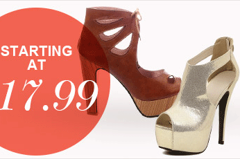 Milanoo: Cut-out Heels From $17.99