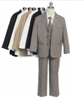 Babyz And Kidz: Charming Boy 5PC Three Button Suit