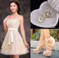 Dresswe: 60% Off Elegant Lovely Lace Strapless Zipper-Up Short Homecoming Dress