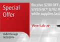 Fujitsu: Special Deal: Receive $200 OFF + FREE Shipping