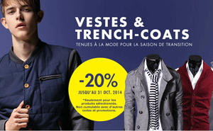 Milanoo: 20% De Réduction Trench-coats