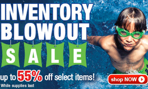 55% Off Inventory Blowout Sale