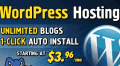 Gorilla Themes: WordPress Hosting Unlimited Blogs 1-click Auto Install Starting At $3.96/mo