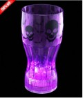 Cool Glow: 50% Off On LED Halloween Cup 12 Oz. Purple Skulls