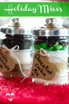 Pintsized Treasures: ChocoMint Cookie Mix In A Jar