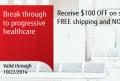 Fujitsu: Break Through To Progressive Healthcare $100 OFF + FREE Shipping