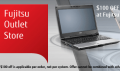 Fujitsu: $100 Off And Free Shipping At Fujitsu Outlet Store!