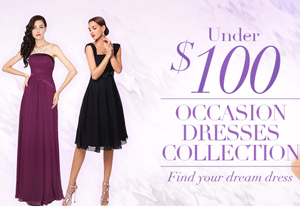 Milanoo: Under $100 Occasion Dresses Collection