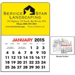Stick-Up Calendars (Rectangle Shape) for $0.44