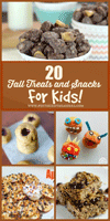 Pintsized Treasures: 20 Fun Fall Snacks And Treats For KIDS — Plus $500 Paypal Cash Giveaway! — 4 WINNERS!