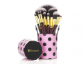 BH Cosmetics: 31% Off 11 Pc Pink-A-Dot Brush Set