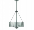 Lighting Showroom: 63% Off Zephyr Brushed Nickel Pendant