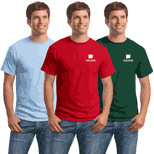 Hanes T-Shirt 50/50 (Colored) as low as $3.06