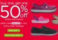 Crocs: Buy 1 Get 1 50% Off