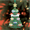 Lillian Vernon: Glitter Tree Ornament For $9.99