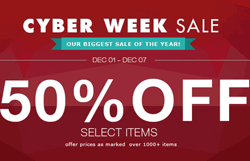 Milanoo: Up To 50% Off Cyber Monday Sale