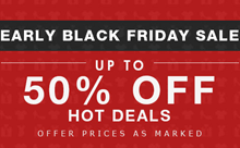 Milanoo: Up To 50% Off Black Friday Sale