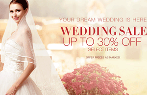 Milanoo: 30% Off WEDDING SALE