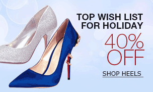 Milanoo: 40% Off TOP Wish List For Holiday-Women's Heels