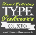 MyDesignShop: 71% Off Hand Lettering Type Takeover Collection With Dana Tanamachi
