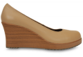 Crocs: 25% Off Womens A-Leigh Closed-Toe Wedge