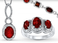 Kay Jewelers: 40% Off Select Garnet Jewelry