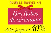 Milanoo: 40% De Réduction Solde Robe Cérémonie Nouvel An