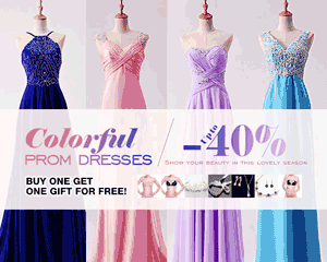 Milanoo: 40% Off Colorful Prom Dresses