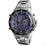 Timepieces USA: $120 Off Lazer Blue Steel