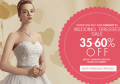 Milanoo: 35-60% Off WEDDING DRESSES SALE