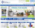 Shelving: Spring For More: 11% Off Rivet Shelving
