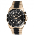 Timepieces USA: $60 Off Diplomat Rose Gold & Black Watch