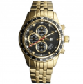 Timepieces USA: $40 Off Gold Alphagraph Watch With Diamonds