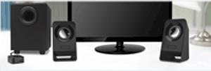 Logitech: $29.99 For Logitech Multimedia Speakers Z213