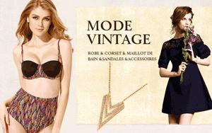 Milanoo: Mode Vintage De 12.18€