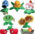 Syg Mall: 40% Off 6Pcs Plants VS Zombies Plush Toys Stuffed Animals
