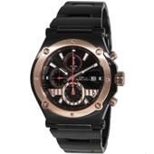 Timepieces USA: $60 Off Flyhawk IP Black Men's Watch