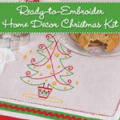 Martha Pullen: 57% Off Ready-to-Embroider Home Decor Christmas Kit
