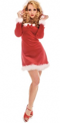 CustumeZone: Ms. Kringle Costume At Just $35