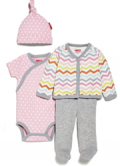 Skip Hop: Starry-Chevron 4-Piece Welcome Home Baby Sets For $35