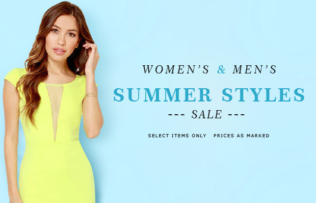 Milanoo: Summer Styles Sale From $11.89