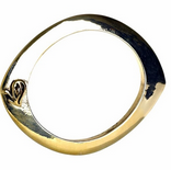 $48 Belle Noel Evil Eye Bangle in Yellow Gold