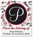 Artistic Labels: Graceful Shoes Bookplates For Only $5.95