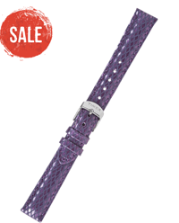 Timex: 50% Off Purple Metallic Leather Strap 16mm