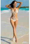 The Trend Boutique: Anna Kosturova Flashback Monokini In Creme For $189