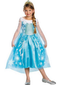 Costume Craze: 40% Off Deluxe Frozens Elsa Costume