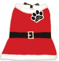 Fur My Pet: Mrs. Claus Sweater Dress For Only $18.75