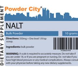 Powder City: N-Acetyl L-Tyrosine (NALT) Low To $3.09
