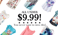 Oasap: All Things Under $9.99